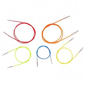 Cables de colores para puntas KnitPro