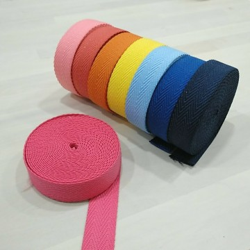 Cinta de espiga de colores - Ancho 30mm (desde 50cm)