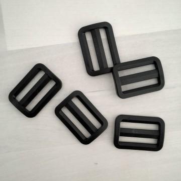 Hebilla negra ajustable para bolsos - Interior 30x5mm