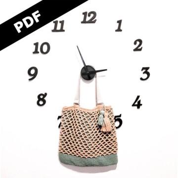 Patrón Bolso Utility - PDF
