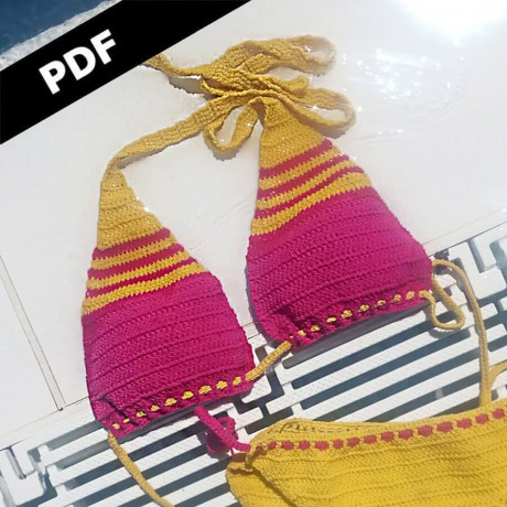 Patrón Bikini SPORT - PDF