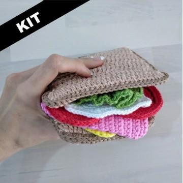 Kit Sándwich Crochet