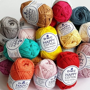 Happy Cotton DMC - Algodón 100%