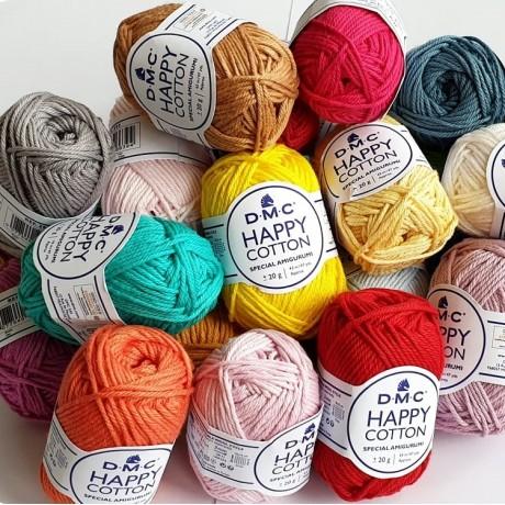 Happy Cotton DMC - Algodón 100%