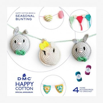 Minilibro amigurumis HAPPY COTTON Nº4 - Guirnaldas estacionales