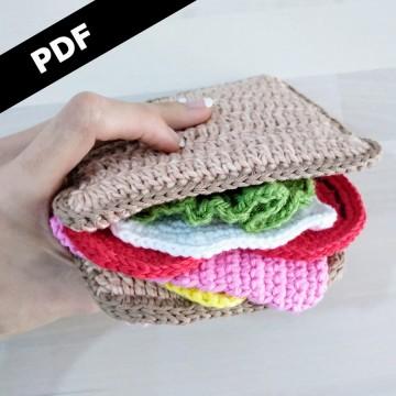 11 patrones Sándwich Crochet