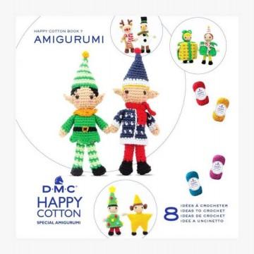 Mini libro amigurumis HAPPY COTTON Nº7 - Especial Duendes Navidad