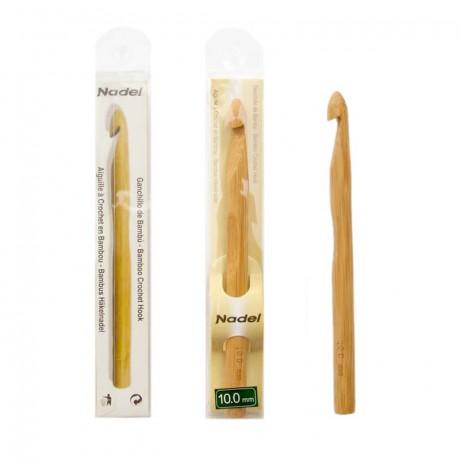 Agujas ganchillo de bambú