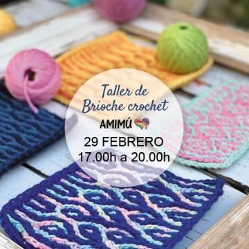 Brioche crochet