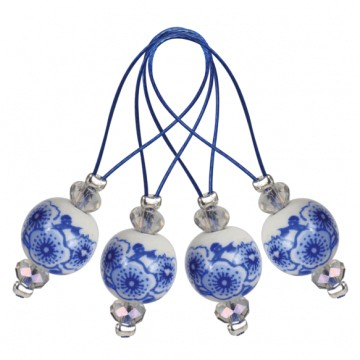 Marcadores de punto Blooming Blue KnitPro