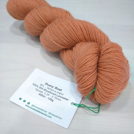 BFL Dusty Rust - Teñido a mano