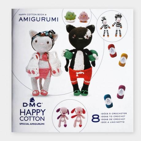 Mini libro amigurumis HAPPY COTTON Nº9 - Parejas de animales