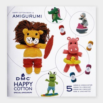 Mini libro amigurumis HAPPY COTTON Nº10 - Animales playeros