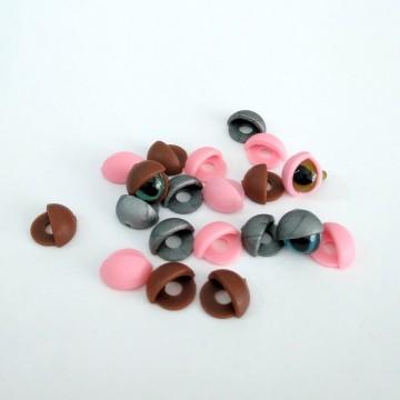 Pack de párpados para ojos de seguridad 9/10mm