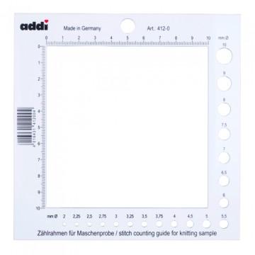Calibrador y medidor de muestras ADDI