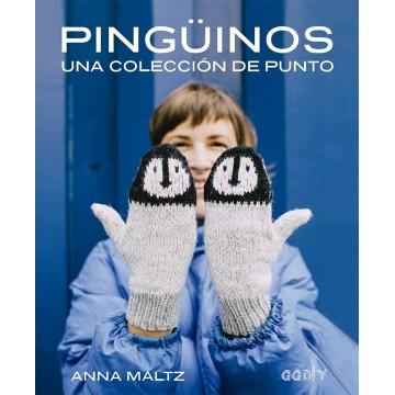 Pingüinos colección de punto