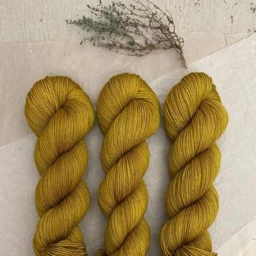 Sock Merino Golden Rain - Feliz y punto