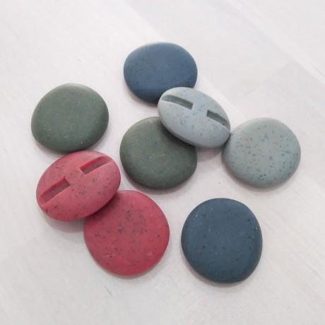 Botón piedra 36mm