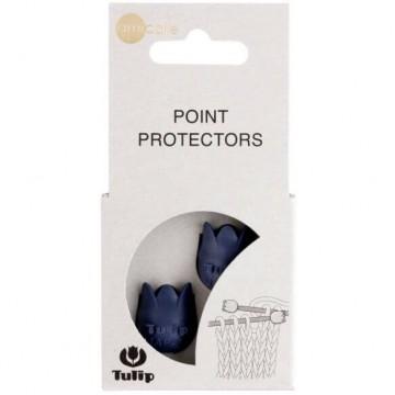 Protectores de puntas grandes azul - Tulip