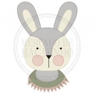 Tela estampada - Mod. Bunny 30x30cm