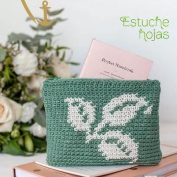 Patrón estuche Hojas - PDF