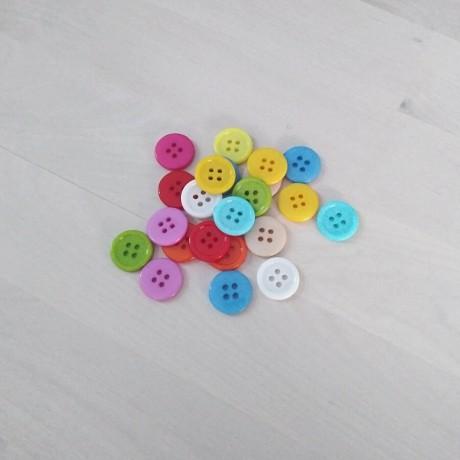 Botones de colores 12.5mm