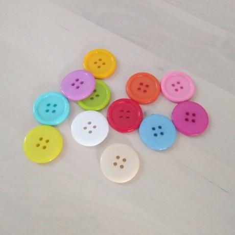 Botones de colores 20mm