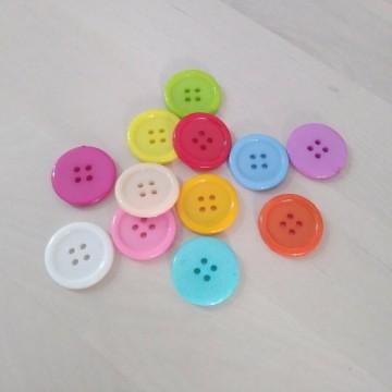 Botones de colores 23mm