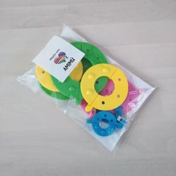 Discos para hacer pompones