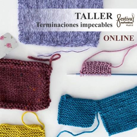 Taller Montajes, cierres, orillos y costuras - Keka Guillén (ONLINE)