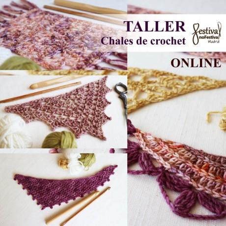 Taller 5 chales de crochet - Mamma DIY (ONLINE)