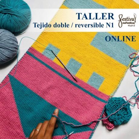 Taller Tejido doble N1- Knitandpepper (ONLINE)
