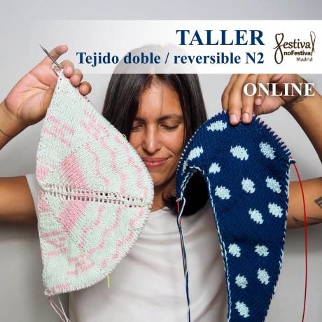 Taller Tejido doble N2 - Knitandpepper (ONLINE)