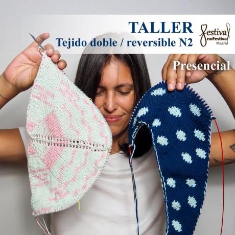 Taller Tejido doble N2 - Knitandpepper (PRESENCIAL)