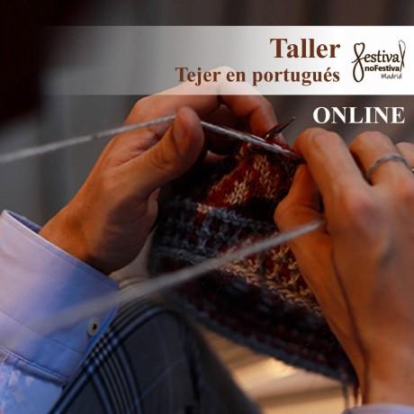 Taller Tejido en portugués - André de Castro (ONLINE)