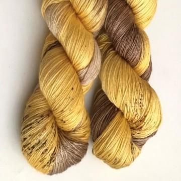 Merino/Seda - Cinnamon