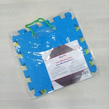Esterilla bloqueadora KnitPro, pack 9 piezas de 30x30
