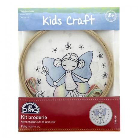 Kit DMC de Bordado para niños - Hada