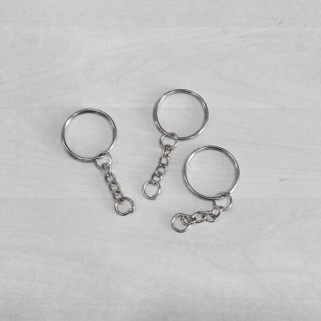 Llavero 25mm - Anilla con cadena