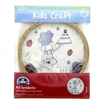 Kit DMC de Bordado para niños - Pastelera