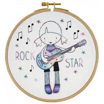 Kit DMC de Bordado para niños - Rock