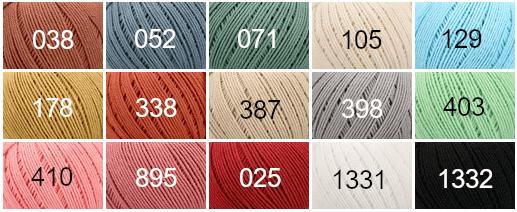 Colorido Anchor Cotton Nature - Algodón orgánico