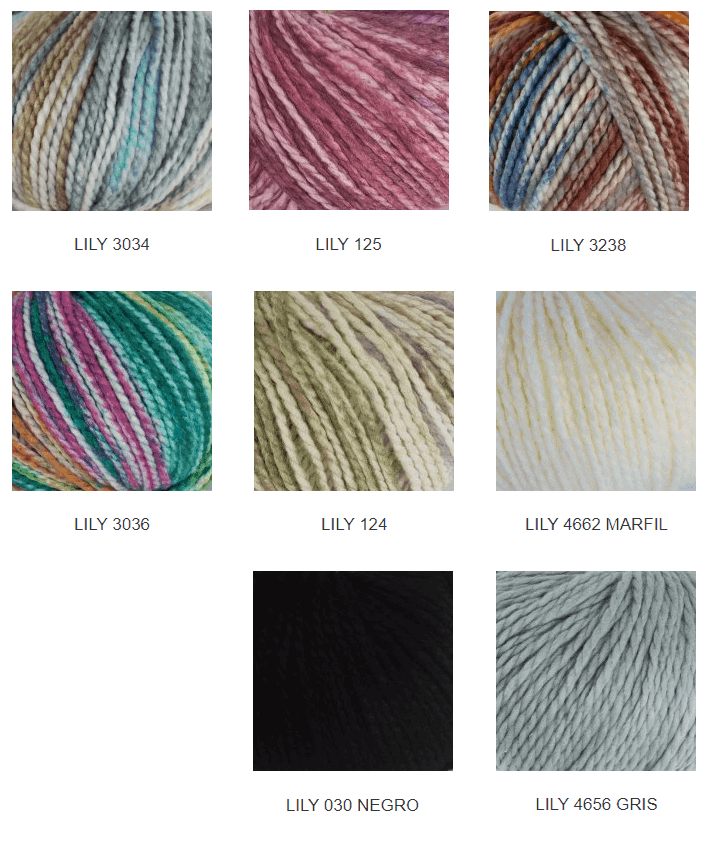 Colores lana suave