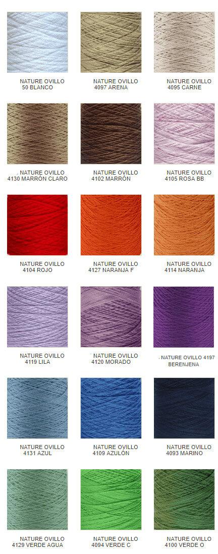 Colores algodón XL Nature Hilaturas LM
