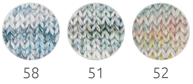 Colores de lana para tejer primavera verano