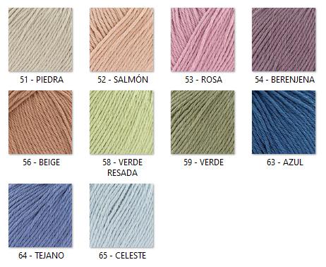 Colores lanas bebé concept KATIA