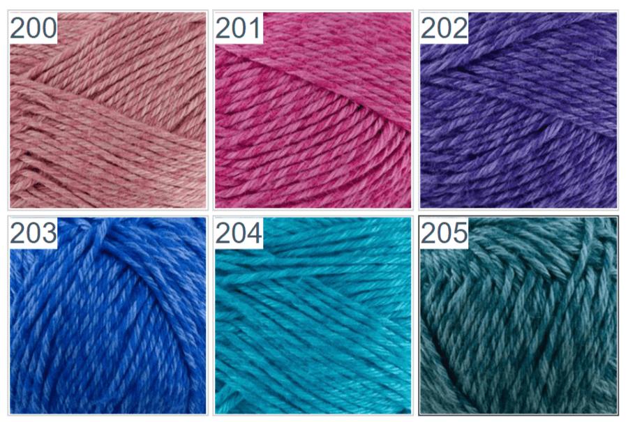 Colores top ganchillo