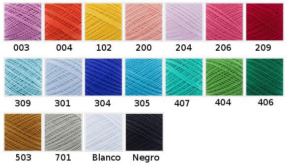 Perle numero 5 colores
