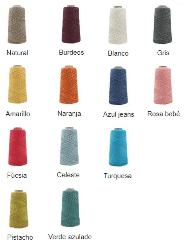 Colores lino 5 cabos casasol