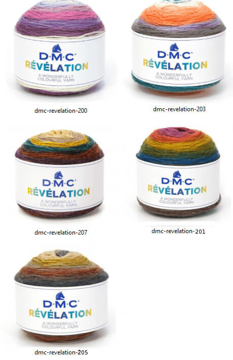 Colores revelation DMC